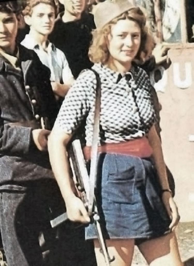 Simone Segouin combattante Resistance française
