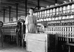 enfant travail usine