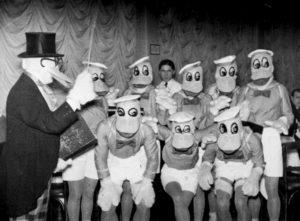 photo ancienne bizarre canard
