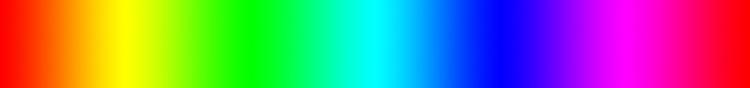 spectre couleur rvb