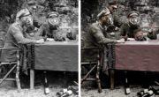colorisation photo guerre