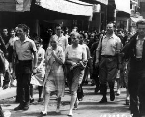 Femme tondue guerre mondiale