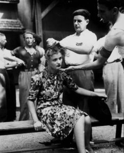 Femmes tondues guerre mondiale