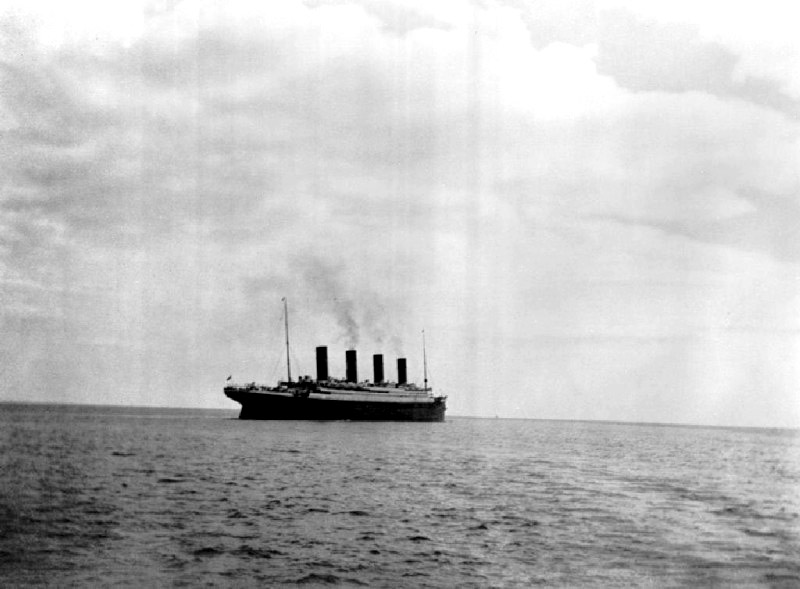 derniere photo titanic