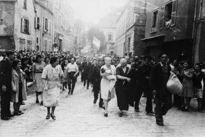femme rasee 1944