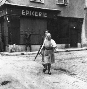 femme tondue 1944 liberation
