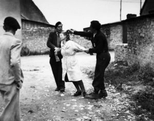 femmes tondues collaboratrices liberation