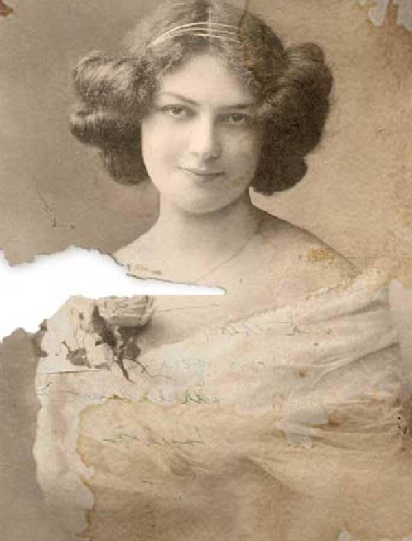 phenix-photo-restauration-photo-ancienne-portrait-femme-abimee