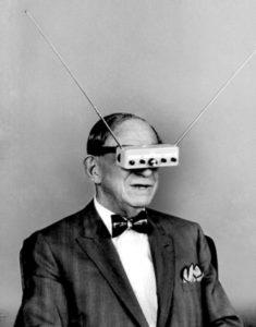 photo ancienne bizarre lunettes