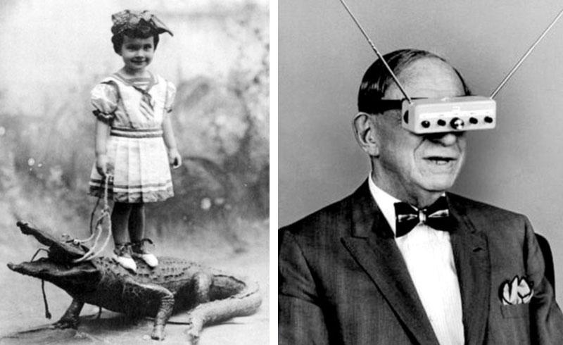 Bien connu Top 10 des photos anciennes les plus bizarres #3 FQ62