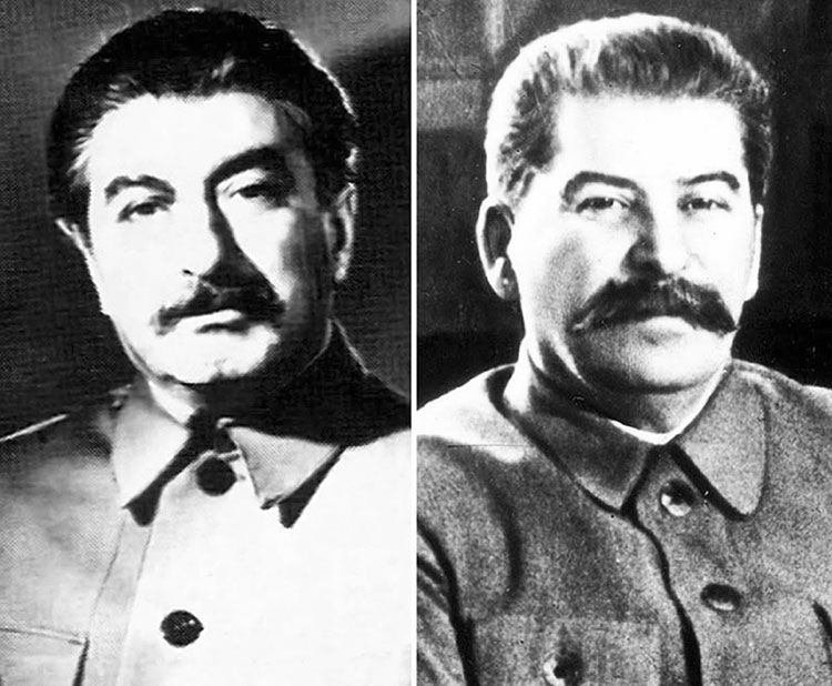 sosie de staline