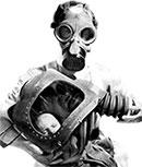Masque a gaz enfant