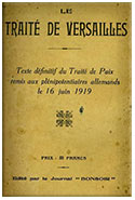 document traité de versailles