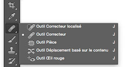 outil correcteur photoshop restauration photo