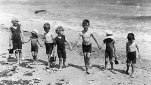 Avant le bikini enfants