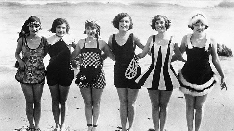 Top 15 photos anciennes avant le bikini - Costumi da bagno del 1900 ...