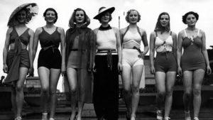 Avant le bikini mode