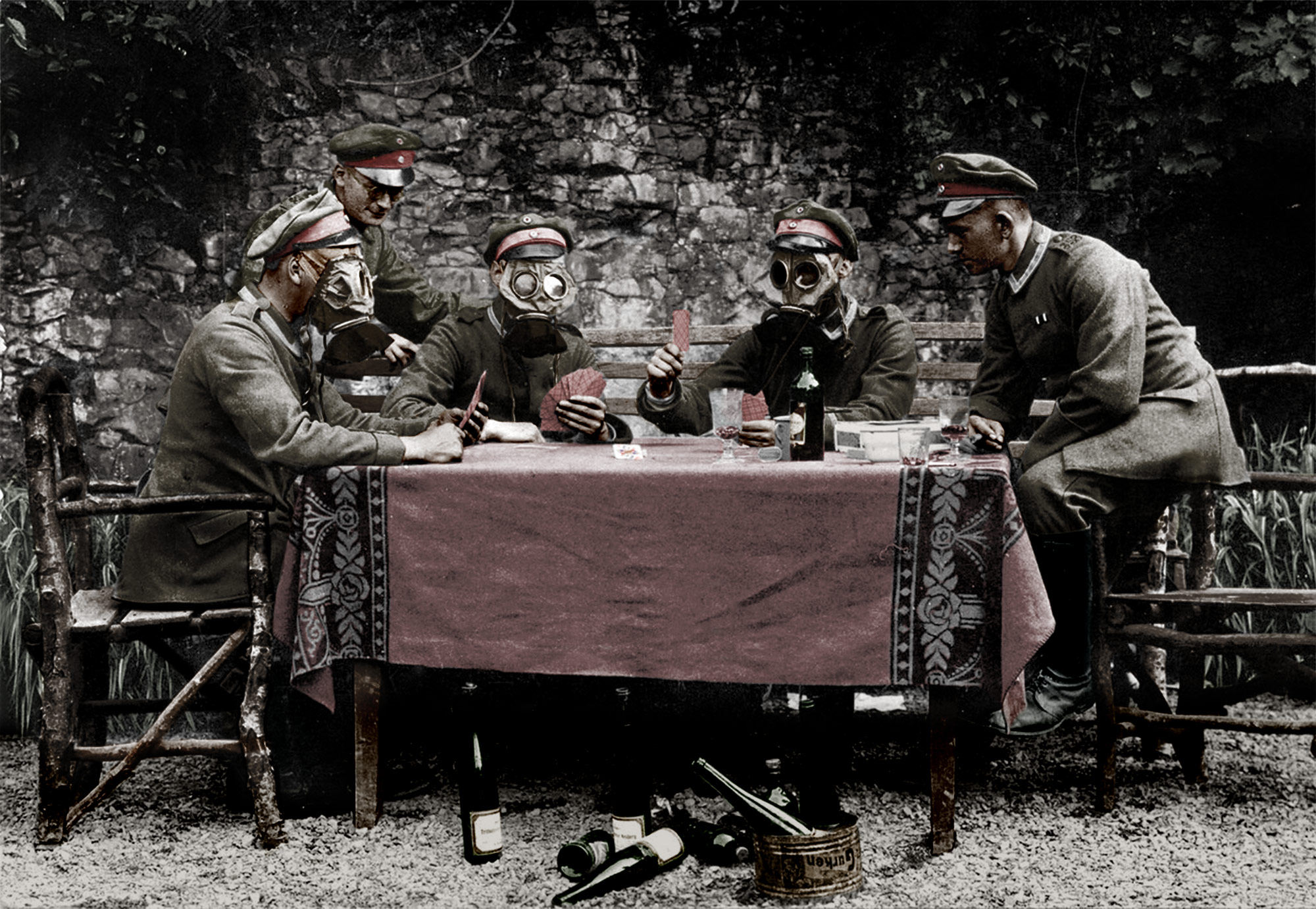 Colorisation photo guerre mondiale