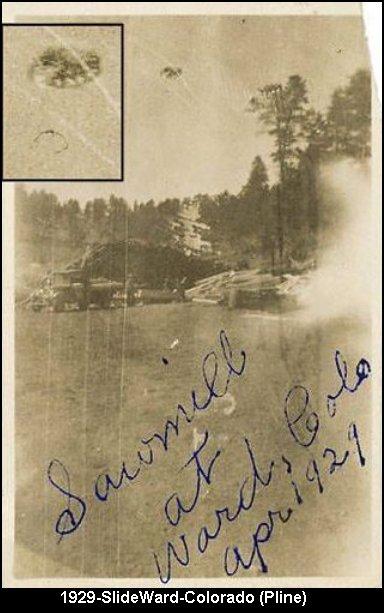 ancienne photo ovni