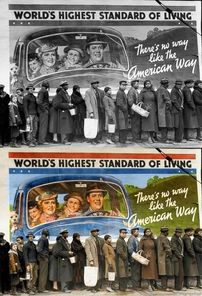 Top 25 photos anciennes historiques colorisées Louisville