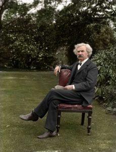 Top 25 photos anciennes historiques colorisées Mark Twain