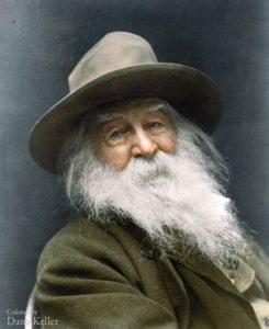 Top 25 photos anciennes historiques colorisées Walt Whitman