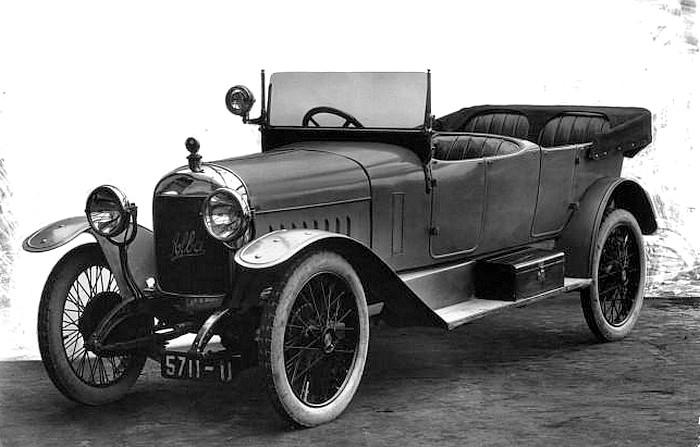 photo-ancienne-Alba-un-joli-modele-tourisme---Voiture-decapotable-de-1920