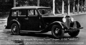photo-ancienne-Aries-conduite-interieure-luxe-4-6-places-super-10-50---Voiture-de-19--