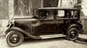 photo-ancienne-Citroen-Type-C4---Voiture-ancienne-de-1920