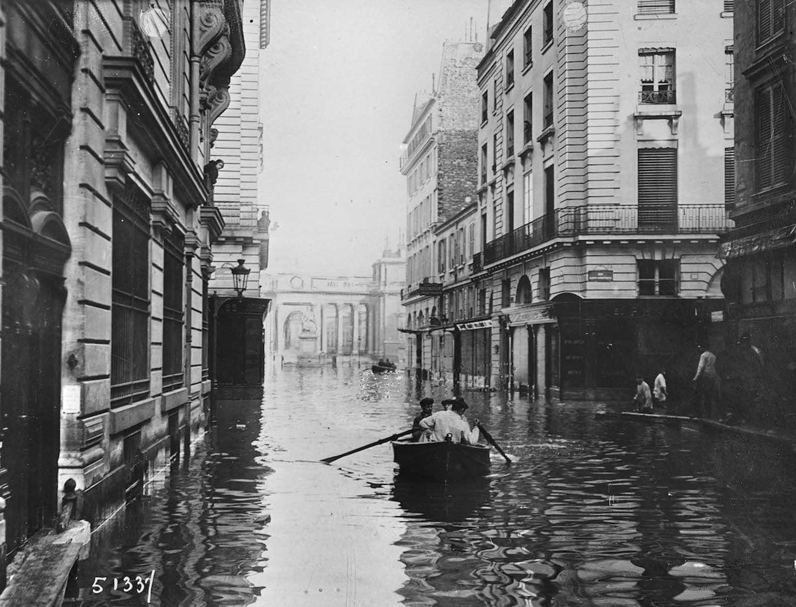 Inondation Paris 1910