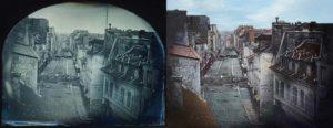 Restauration d'un événement historique sur Paris