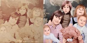 Restauration de photo ancienne